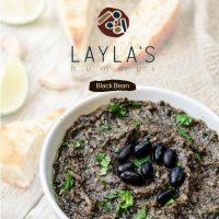 Black Bean Hummus Laylas Food Company