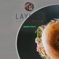 Jalepeno Cilantro Bagel Laylas Food Company